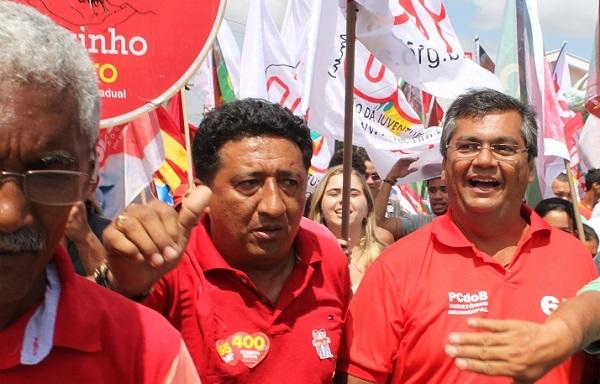FLÁVIO DINO ELEITO GOVERNADOR.