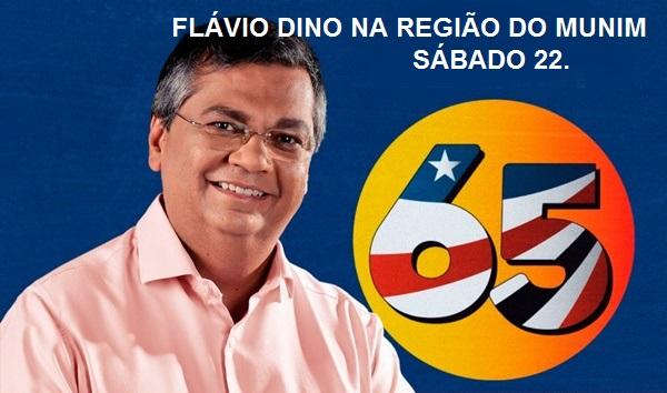 Flávio Dino estará na região do Munim neste sábado (22) Veja a programação.