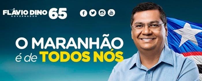 Flávio Dino desmente boato sobre pedido de licença do governo para dedicar-se a campanha.