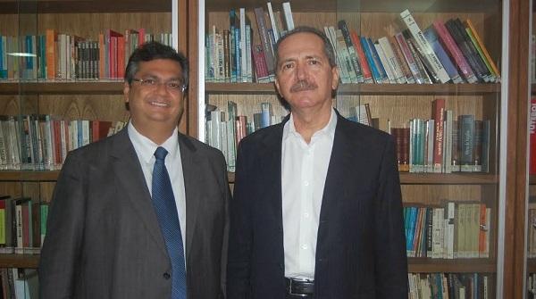 Flávio Dino com Aldo Rebelo.