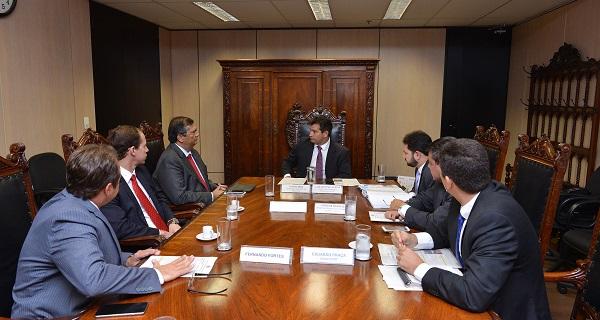 Flávio Dino reforçou para o atual ministro, Maurício Quintella, a necessidade premente da obra e a importância social da manutenção da BR-135.