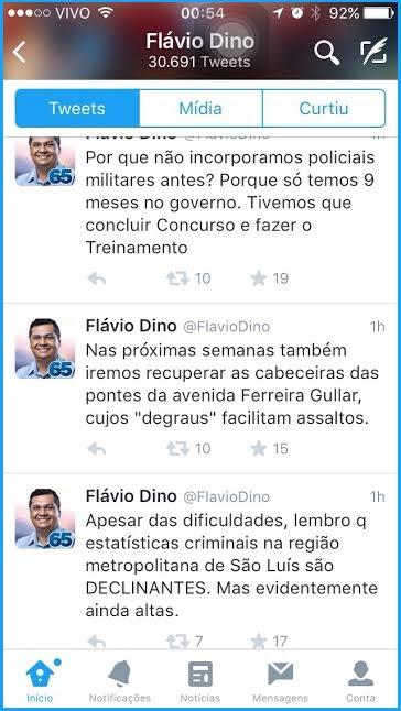 Flávio Dino.
