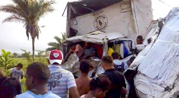 Folha Luziense, acidente na br 222.