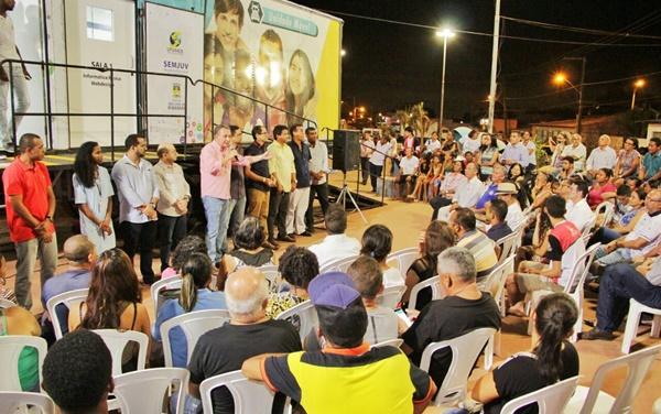 Caminhão da Juventude chega à Maiobinha para capacitar 240 jovens para o mercado de trabalho.