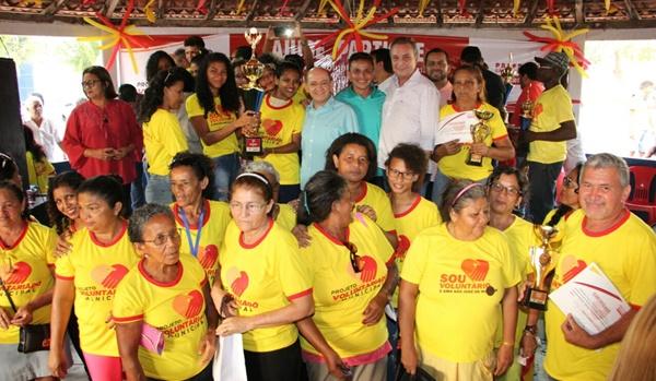 Grupos do Voluntariado são premiados e certificados em São José de Ribamar.