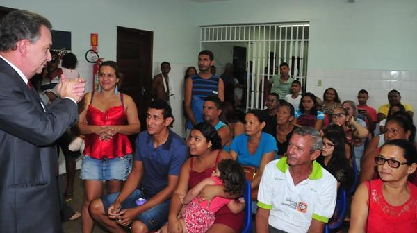 Agentes de Saúde e de Endemias de Ribamar recebem treinamento na área da Educação Popular.