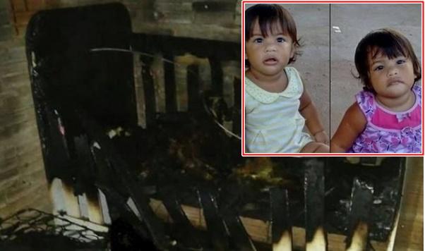 TRAGÉDIA: Gêmeas de um ano morrem carbonizadas dentro de berço no interior do Maranhão.