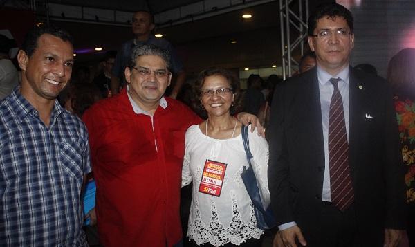 GERALDO CASTRO. NONÍ E SECRETARIO JEFFERSON PORTELA.