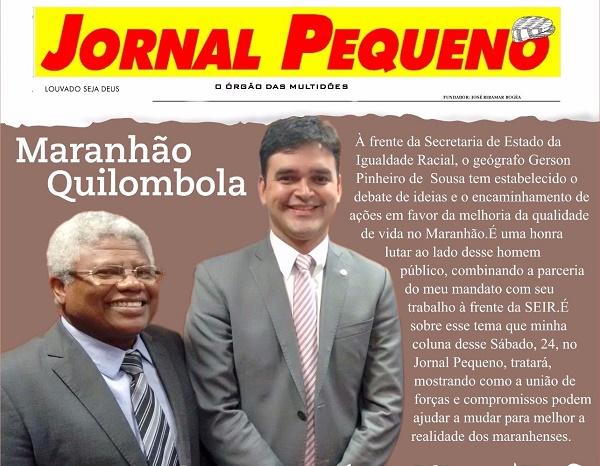 GERSON PINHEIRO E O DEPUTADO RUBENS.