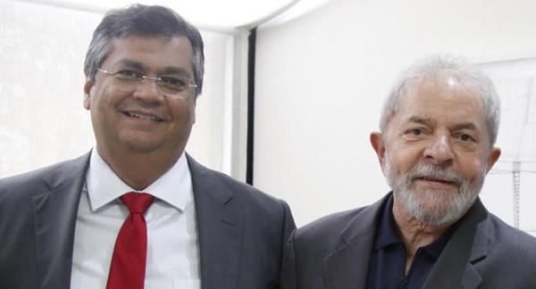 Presidente nacional do PT procura Flávio Dino para ser vice de Lula em 2018.