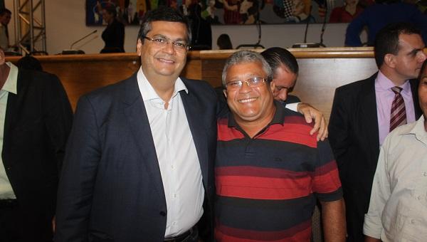 GOVERNADOR FLÁVIO DINO E PEPÊ.