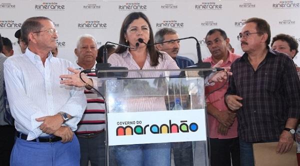 GOVERNADORA NA REGIÃO DO MUNIM.