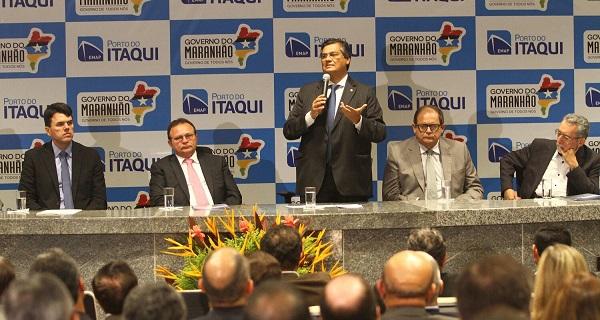 Governador Flávio Dino apresenta resultados alcançados pelo Porto Itaqui em 2015 e anuncia investimentos para os próximos anos.