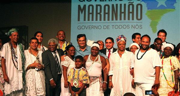 Governador Flávio Dino durante programação do Governo do Maranhão em alusão ao Dia da Consciência Negra.