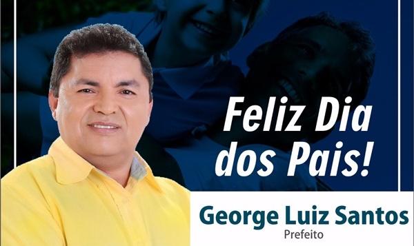 Prefeito de Primeira Cruz, George Luiz emite homenagem aos pais primeira-cruzense.