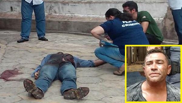 Homem morre baleado em tentativa de roubo de condomínio em São Luís e comparsa fica ferido.