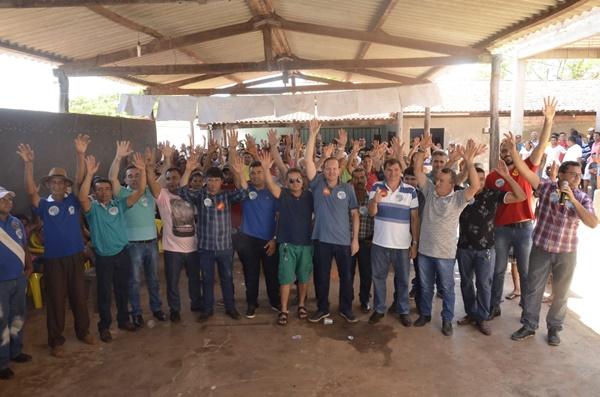 Em Nova Colinas, lideranças do município e da região declaram apoio a Márcio Honaiser.