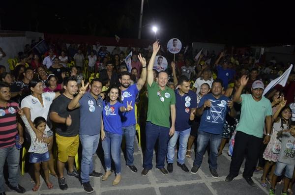 Em Tutóia, sindicatos, produtores e profissionais liberais declaram apoio a Márcio Honaiser.