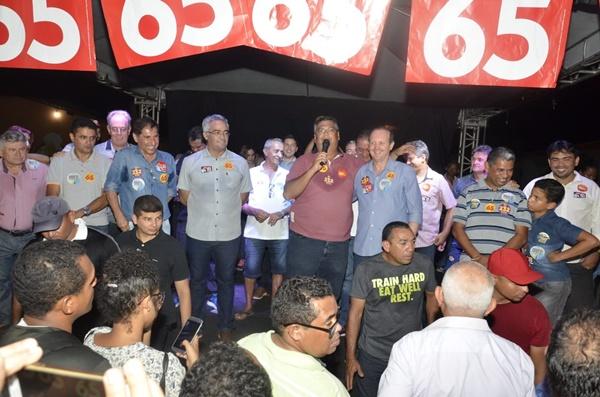 Ao lado de Flávio Dino e Weverton, Márcio Honaiser se consolida como candidato do povo de Itinga.