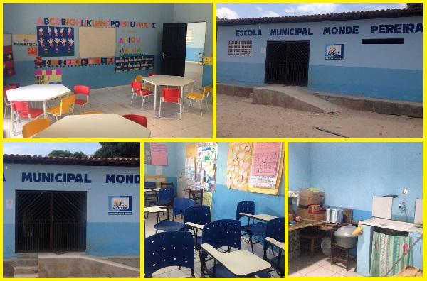 NA CIDADE DE MONÇÃO PREFEITO QUEIROZ PRIORIZA EDUCAÇÃO ENTREGANDO OBRAS IMPORTANTES NO MÊS DE NOVEMBRO.
