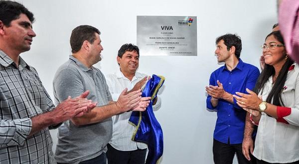 Inauguração do VIVA em Pastos Bons.