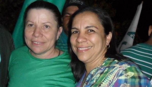 Iriane Gonçalo de Souda Gaspar, irmã do ex-prefeito de Santa Rita, Hilton Gonçalo (PDT).