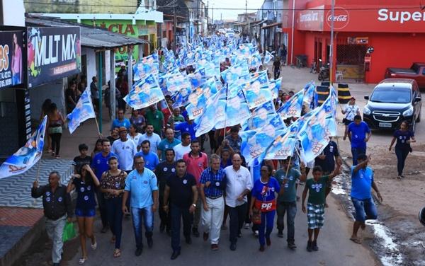Josimar Maranhãozinho e Hélio Soares são recebido com muita alegria em Paço do Lumiar.