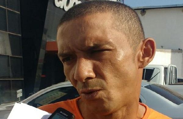João Neto Tomás de Sousa. Ele é suspeito de ter participado do homicídio do vereador Esmilton Pereira dos Santos.