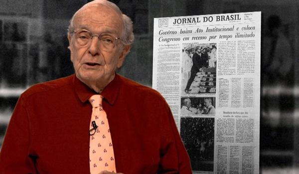 Morre aos 86 anos o jornalista Alberto Dines, em São Paulo.