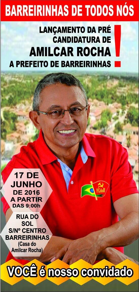 LANÇAMENTO DA PRÉ-CANDIDATURA.