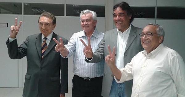 LOBÃO FILHO APÓS REGISTRAR CHAPA.