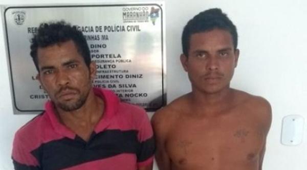 PM prende dois assaltantes armados na cidade de Barreirinhas.