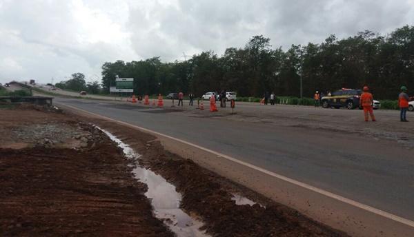 Ponte do Estreito dos Mosquitos está liberada para o tráfego de veículos.