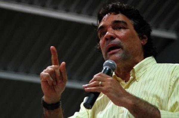 O candidato ao governo do Maranhão, Lobão Filho (PMDB).
