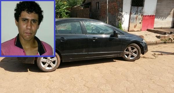 Lucas Henrique Silva Costa, de 19 anos, roubou o veículo na semana passada em São Luís.