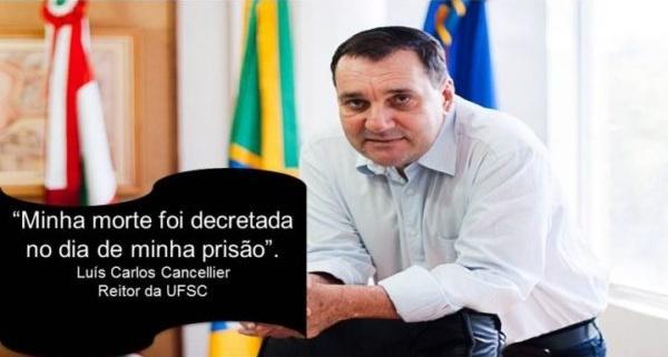 Reitor afastado da UFSC é encontrado morto em shopping de Florianópolis.