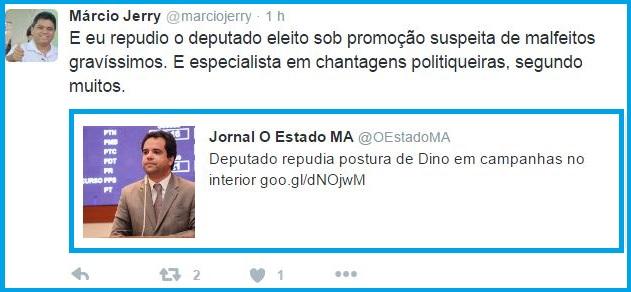 MÁRCIO JERRY RESPONDE AO EDILÁSIO.