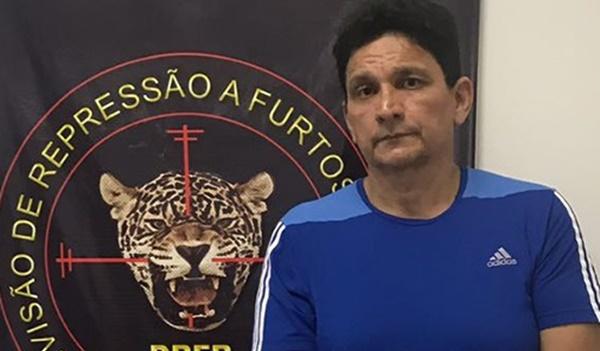 Polícia prende condenado por participação no assassinato do delegado Stênio Mendonça.