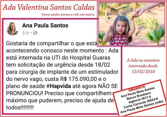 """""""Estão matando minha filha"""", diz mãe sobre negligência do Hospital Guarás."""