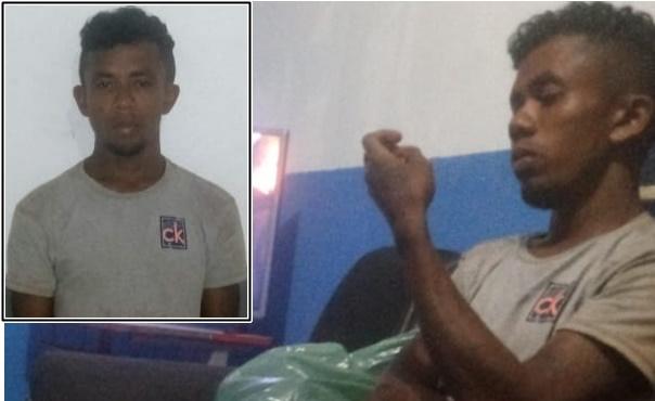 Policiais do 27ºBPM de Rosário, comandada pelo major Pereira prendem filho que matou o pai na cidade de Icatu.