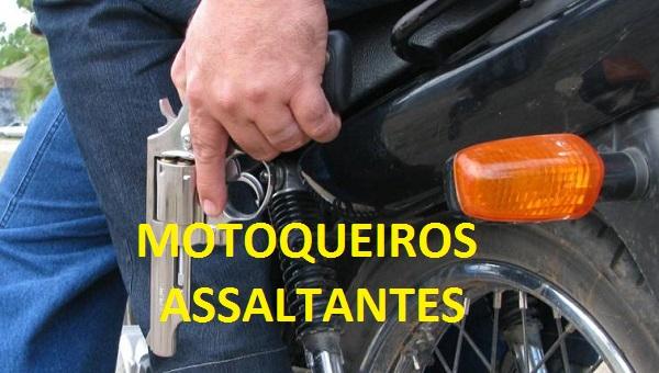 MOTOQUEIROS FAZEM ASSALTOS.