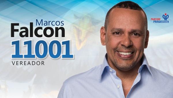 Marcos Falcon, que era candidato a vereador, foi executado dentro do comitê de sua campanha em Madureira, Zona Norte da cidade.