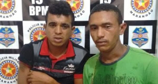 Mauro de Lima Silva, 20 anos e Sebastião Mauro da Silva, ambos de 20 anos.