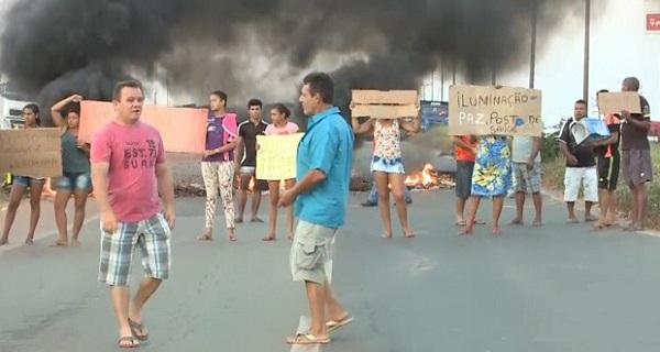 Moradores pedem melhorias no Residencial da Ribeira, em São Luís (MA).