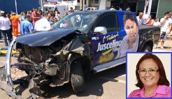 Morre Margareth Bringel, vítima de acidente automobilístico.