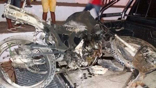 Três jovens morrem em acidente em povoado no município de Tutóia.