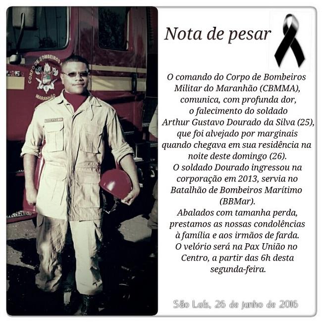 NOTA DE PESAR.