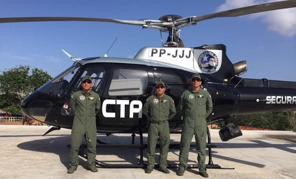 Sistema de segurança ganha novo helicóptero que reforçará ações de combate à criminalidade no Maranhão.
