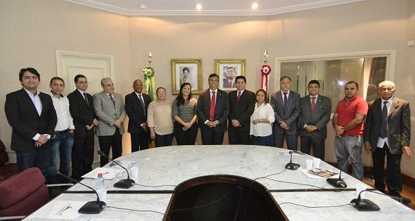 O Governo do Maranhão recebeu pela 1° vez os representantes do COMEFC.