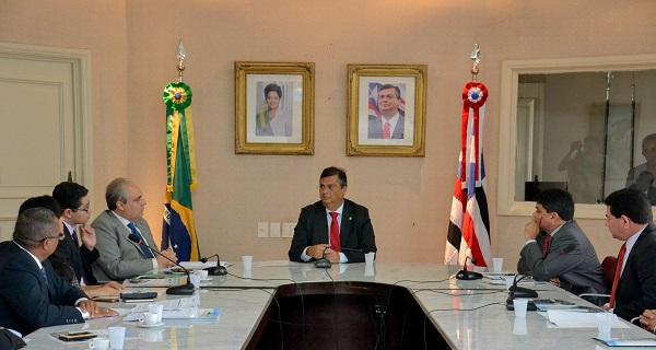O Governo do Maranhão recebeu pela 1° vez os representantes do Consórcio dos Municípios da Estrada de Ferro Carajás.